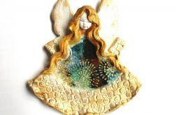 Anioł ceramiczny Felicja 18 chrzest ślub