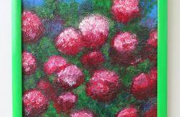 """Obraz """"Kwiaty karminowe"""""""