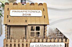 Domek Parapetówka PARAPETÓWKĘ alkohol prezent
