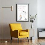 Plakat A3 - Przyjemność - plakaty do salonu