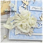 Kartka ślubna z gołąbkami vol.88 - prezent na ślub