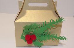 Pudełko na ciasteczka złote