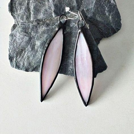 Kolczyki Perłowe Krople Tiffany