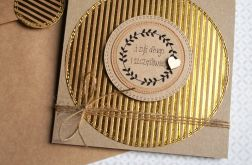 kartka ślubna :: eco glam :: GOLD II