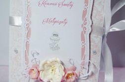 Pamiątkowa Księga I Komunia Święta Róż