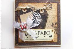 Wyjątkowa KARTKA dla BABCI - 1