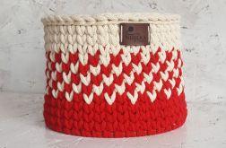 Koszyk biało-czerwony