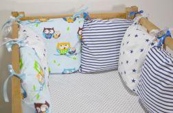 Modułowy ochraniacz do łóżeczka 6 szt N12