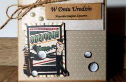 Kartka dla golfisty