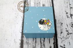 pudełko mini z kotkiem