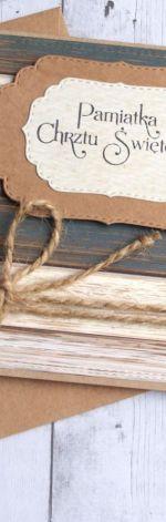Pamiątka Chrztu Świętego :: drewno