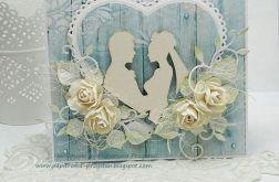 Wiejski ślub  - komplet z pudełkiem 1