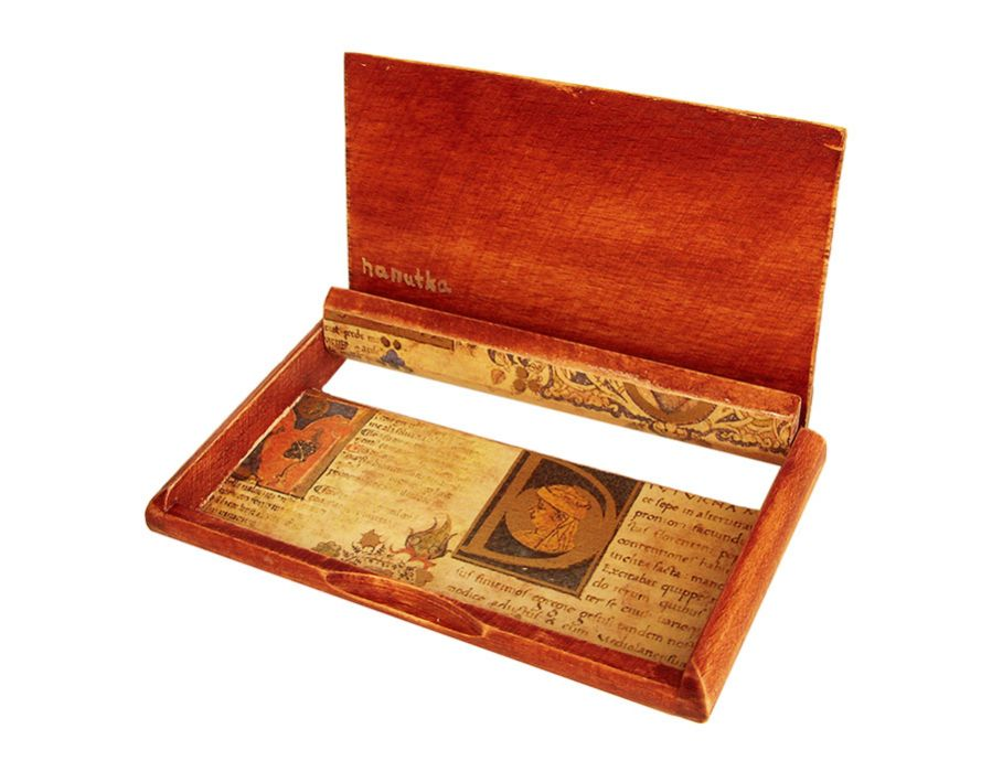MANUSKRYPT - wizytownik,etui na karty płatn. - MANUSKRYPT - wizytownik, etui na karty płatnicze (wnętrze)