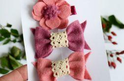 FairyBows zestaw spinek do włosów 3 szt