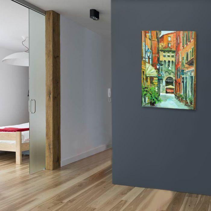 Ulica Bolonii - obraz