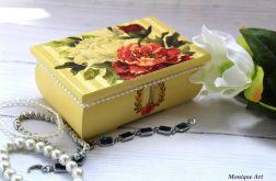 Romantyczna szkatułka, róże