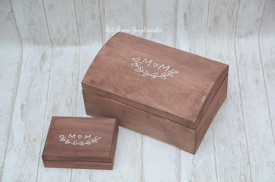 Pudełko na obrączki BOHO LOVE