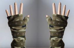 Rękawiczki mitenki moro