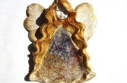 Anioł ceramiczny Basia 37 chrzest ślub
