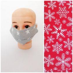Maseczka bawełniana,na twarz,dorosły/dziec,2