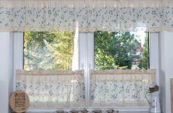 Komplet okienny, zazdrostki i lambrekin