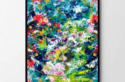 Plakat abstrakcja #2 50X70 B2