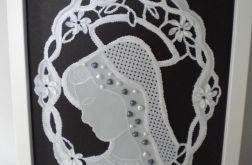 Maryja z perełkami - obrazek