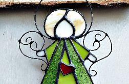 Anioł Uriel Tiffany