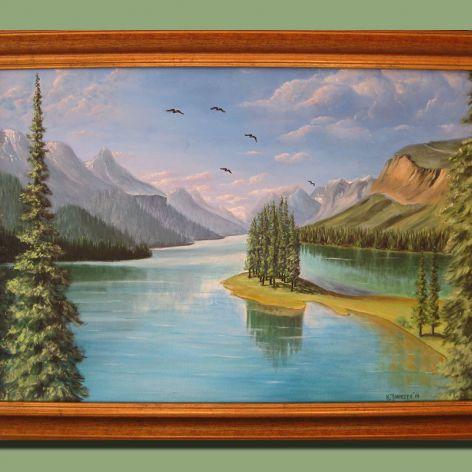 Jezioro północne.
