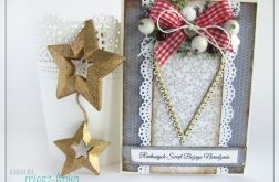 Kartka świąteczna z sercem 4