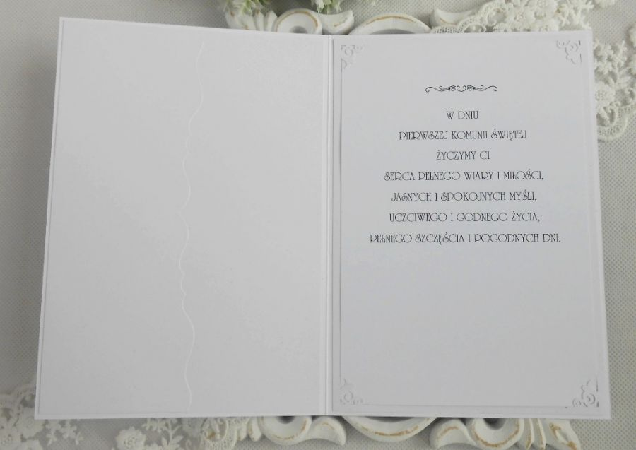 Kartka komunijna A5 w pudełku 02