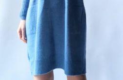 Sukienka oversize z kieszeniami 013
