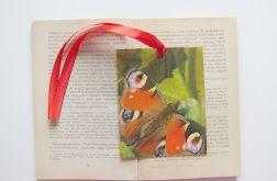 Zakładka do książki motylek 1