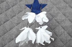 Kolczyki kwiatki na ślub, wesele, komunię 3