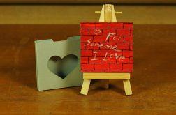 Walentynkowa kartka-magnes 6