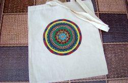 torba mandala ręcznie malowana