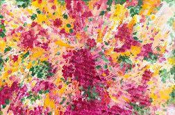 Obraz abstrakcja kwiaty Spring Explosion