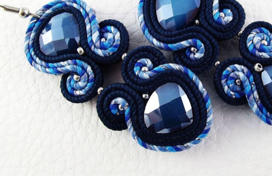 Noxy 19 - eleganckie kolczyki sutasz - kolczyki na sylwestra