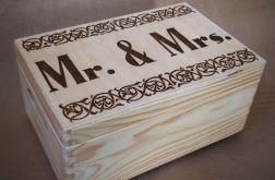 skrzynka Mr&Mrs latorośl