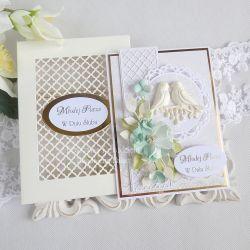 Kartka ślubna w pudełku 229