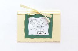 Kartka ślubna handmade - sweet love nr2