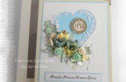 Album w pudełku IHS niebieski foto 15x21