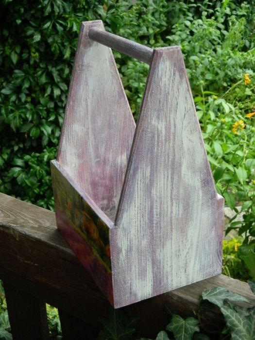 Nosidło z pejzażem Prowansji, lawendowe
