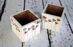 pudełko na kredki tulipany