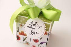 Pudełko na ślub Wiosenna Łąka