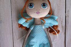 ANIOŁEK, lalka tekstylna ( OOAK )