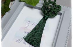 Wisior sutasz #16 chwost Croco zielony + kolc