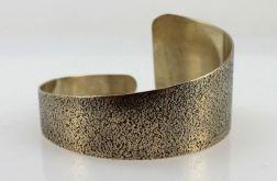 Trójkątna - mosiężna bransoleta 190811-07