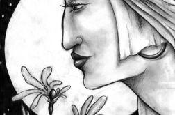 Profil - oryginalny rysunek 9917
