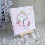Kartka w pudełeczku Lullaby na Chrzest